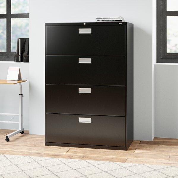 Brigade 600 Series 4-Drawer Lateral Filing Cabinet