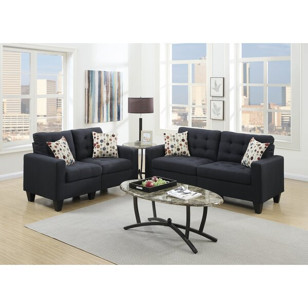 Blythdale 2 Piece Living Room Set by Ebern Designs
