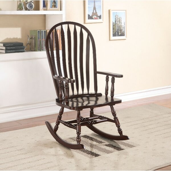 Hobgood Rocking Chair by August Grove