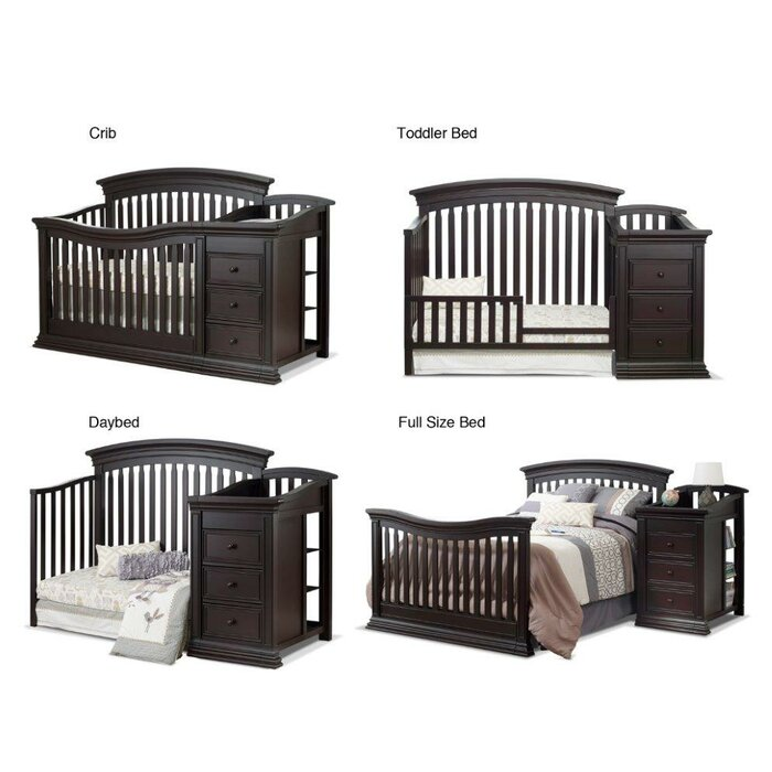 Sorelle Sedona 4 In 1 Convertible Crib