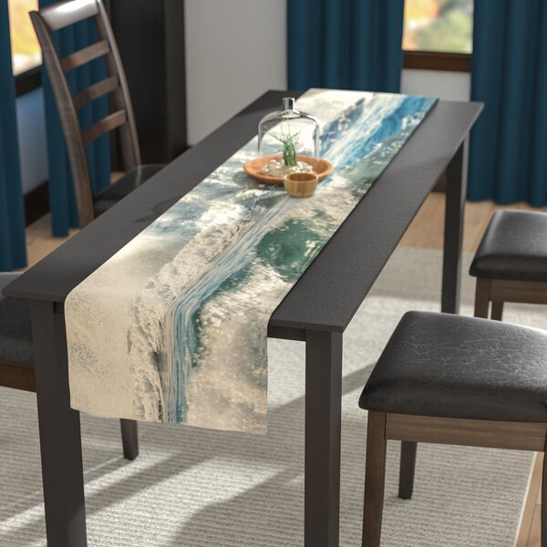 Robin Dickinson Forever Young Coastal Table Runner by East Urban Home