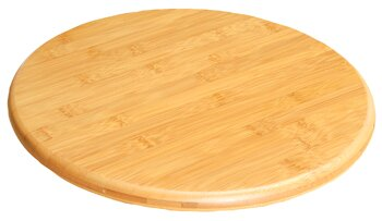 Nunzia Bamboo Lazy Susan by Mint Pantry