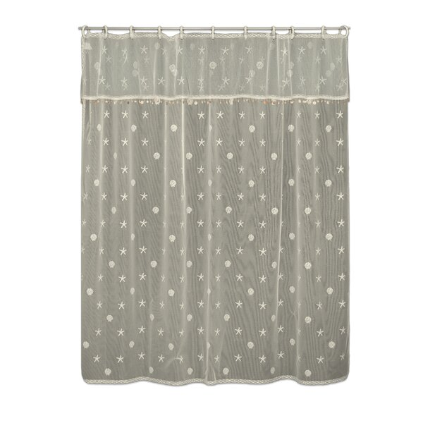 Sagrario Shower Curtain by Highland Dunes