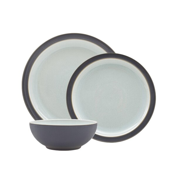 Peveril Blend 12 Piece Dinnerware Set, Service for 4 by Denby