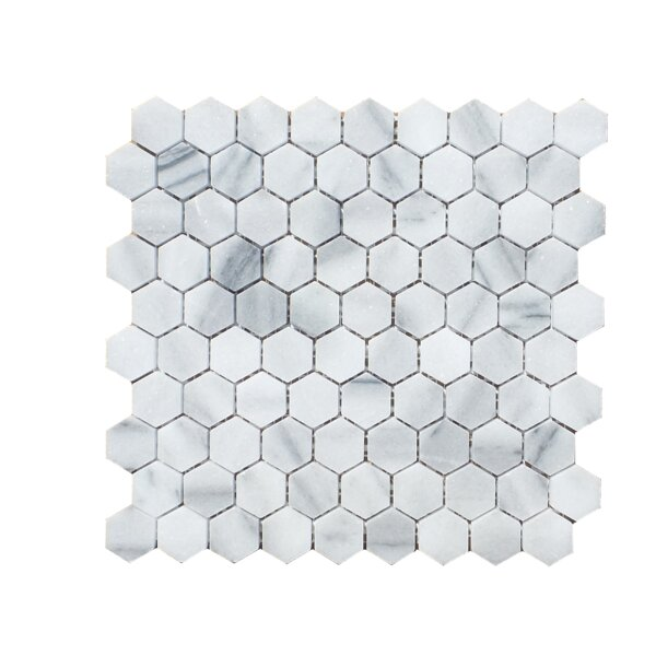 1.25 x 2 Natural Stone Mosaic Tile in Marmara by Mulia Tile