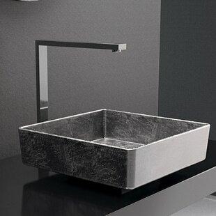 Reviews Pari Lux Square Vessel Bathroom Sink ByMaestro Bath