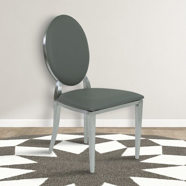 Ambrosius Contemporary Upholstered Dining Chair (Set Of 2) By Everly Quinn