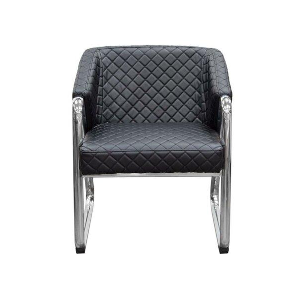 Helina Leatherette Armchair by Orren Ellis