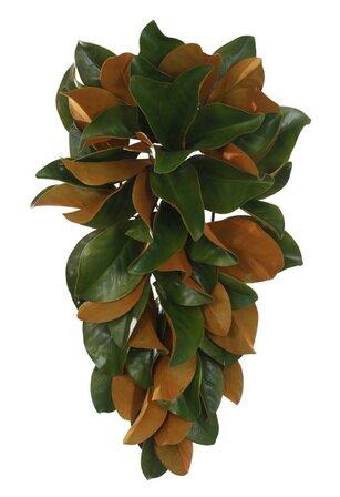 Magnolia Leaf Teardrop Swag by Red Barrel Studio