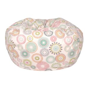 Starburst Pinwheel Medium Bean Bag Chair by Gold Medal Bean Bags