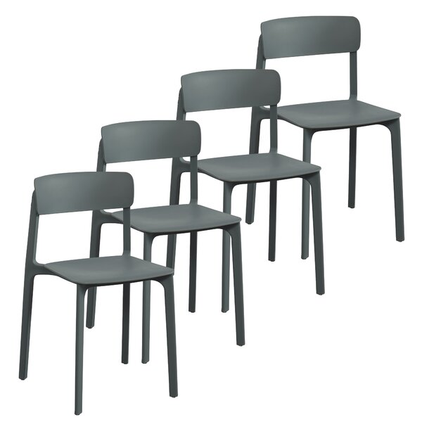 Iva Dining Chair (Set of 4) by Wrought Studio