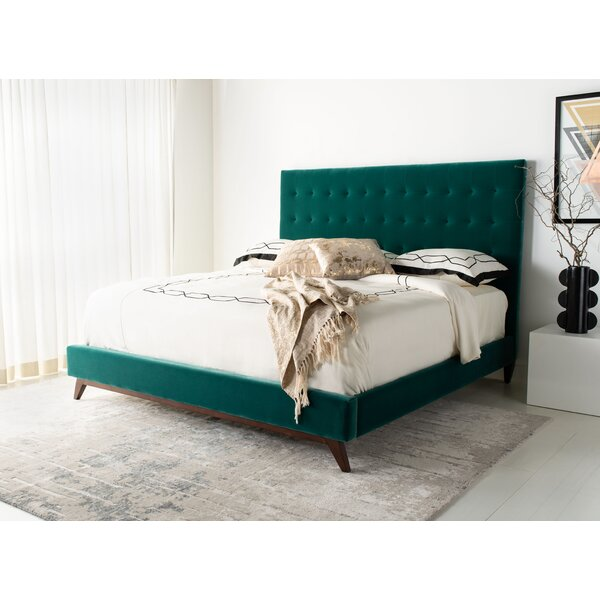 Severson Tufted King Upholstered Standard Bed by Everly Quinn