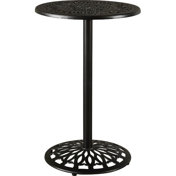 Fuller Metal Bar Table by Astoria Grand