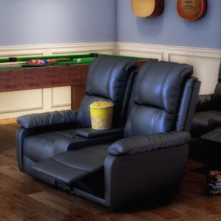 Sackville 2 Seat Home Theater loveseat Darby Home Co