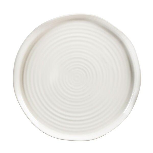 Keller Embossed 10'' Dinner Plate by Gracie Oaks