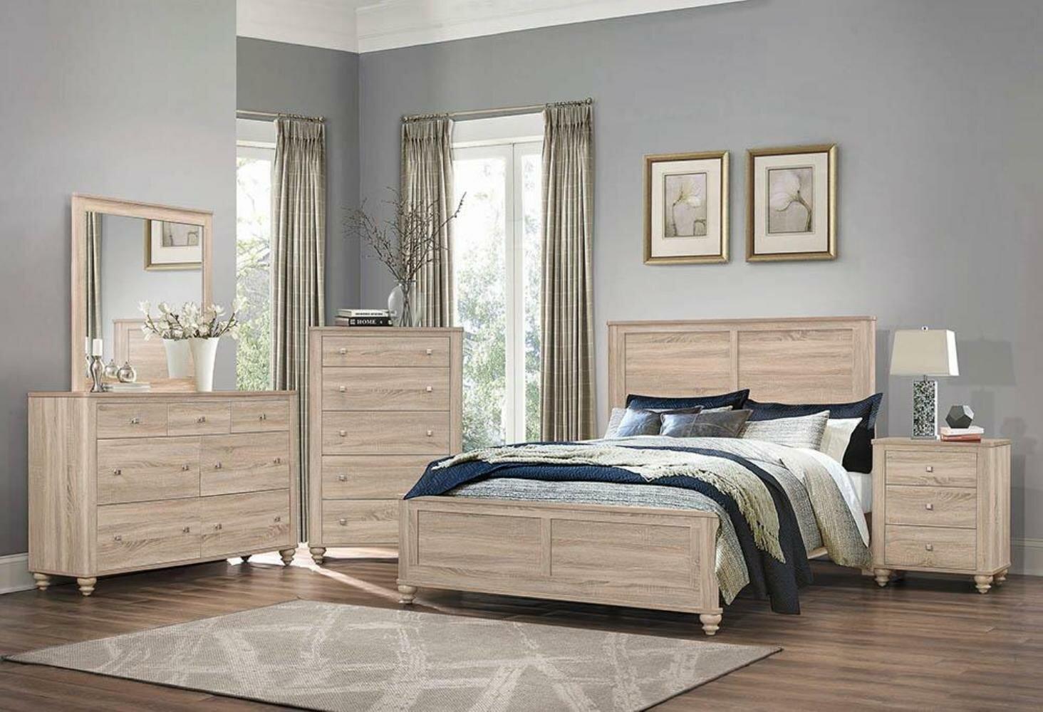 Gracie Oaks Jude Standard Solid Wood Configurable Bedroom Set Reviews Wayfair