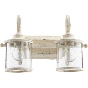 Comparison Miley 2-Light Vanity Light By Ophelia & Co.