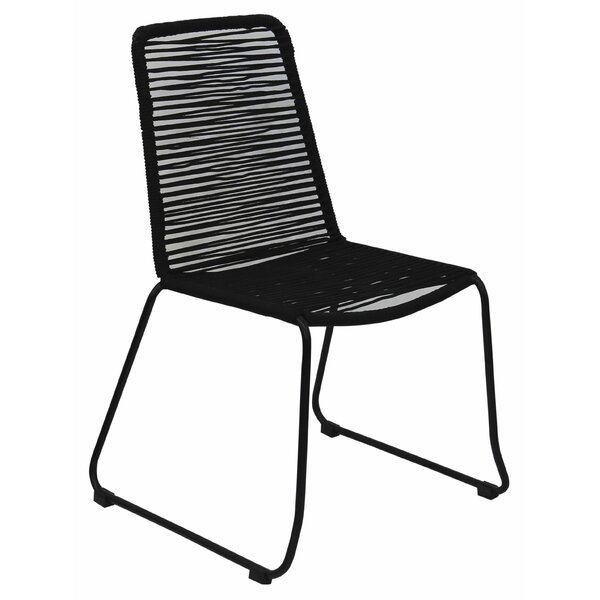 Solal Rope Patio Chair (Set of 2) by Latitude Run Latitude Run