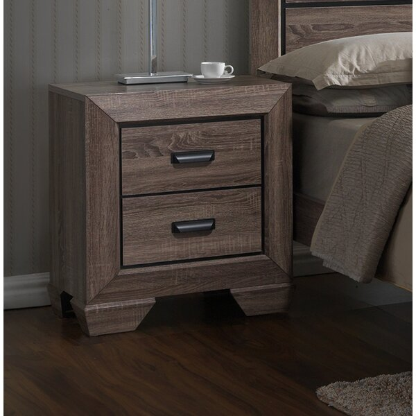 Lashbrook 2 Drawer Nightstand by Latitude Run