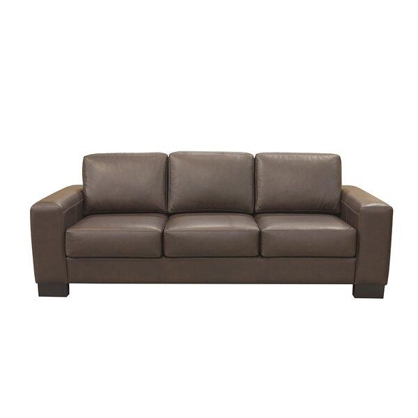 Mayfair Leather Sofa by Coja