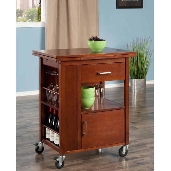 Tinsley Bar Cart By Red Barrel Studio Great price