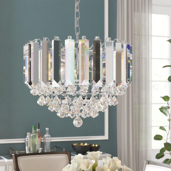Birchley 2-Light Crystal Chandelier By Willa Arlo Interiors