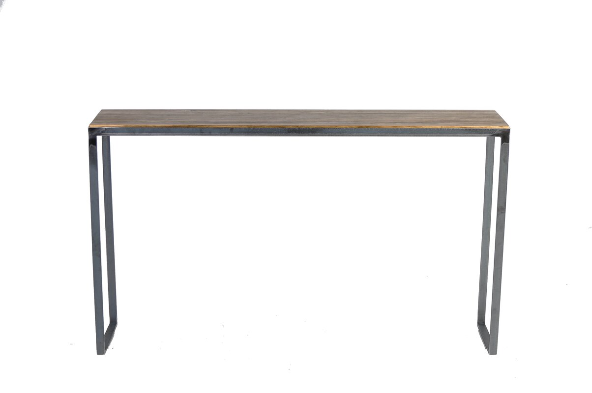 Pine console sofa tables youll love wayfair madhav console table geotapseo Gallery