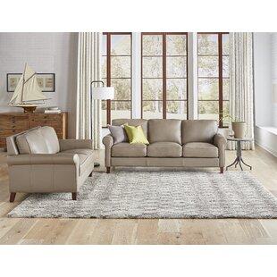 Allensworth Leather Standard Configurable Living Room Set by Red Barrel Studio®
