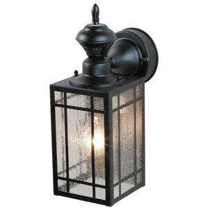 Lakewood 1 Light Black Outdoor Wall Lantern