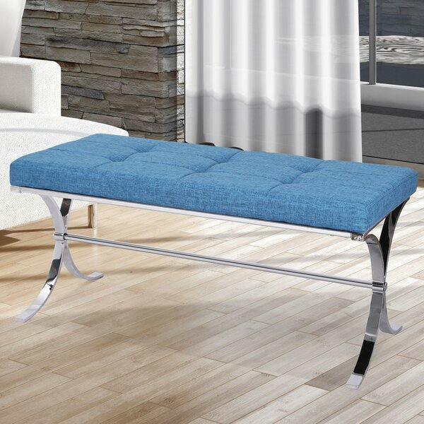 Constantine Upholstered Bench by Rosdorf Park