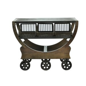 Industrial Trolley Console..