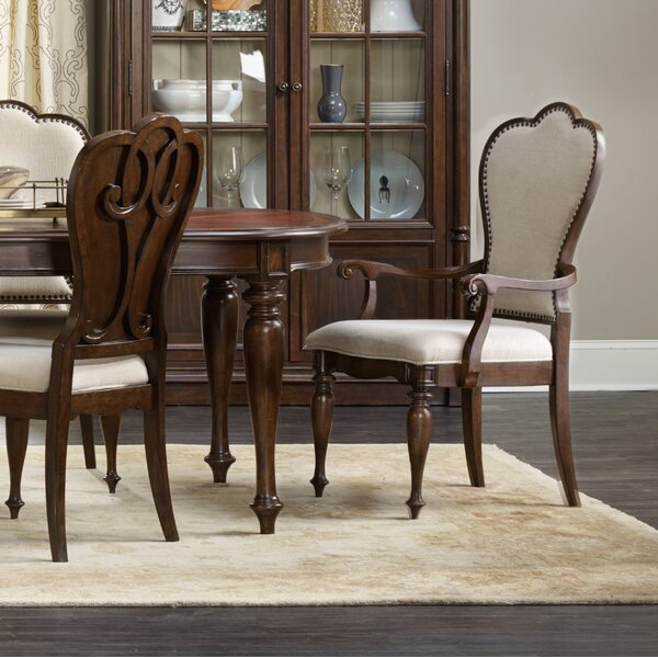 Leesburg Upholstered Dining Chair (Set of 2) by Hooker Furniture