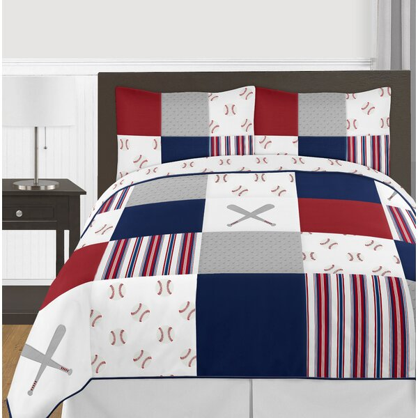 Baseball Patch Comforter Collection by Sweet Jojo Designs