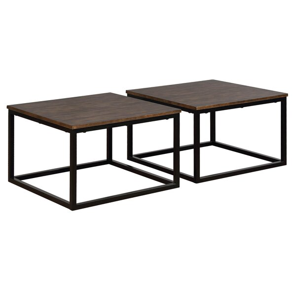 Hensley 2 Piece Square Coffee Table Set by Gracie Oaks