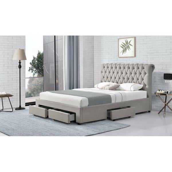 Aadil Upholstered Storage Standard Bed by Red Barrel Studio