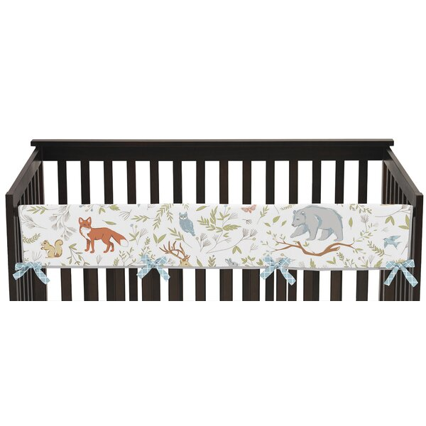 Woodland Toile Rail Guard Cover by Sweet Jojo Designs