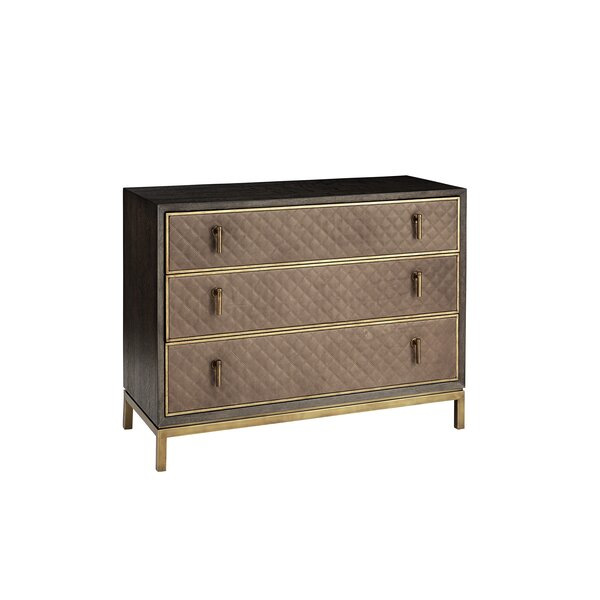 Sherpa 3 Drawer Dresser by Wrought Studio
