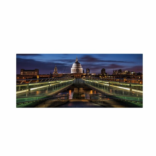 Symmetries of London by Giuseppe Torre Photographic Print on Wrapped Canvas by Trademark Fine Art