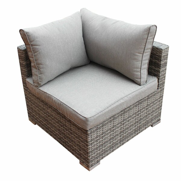 Trevion Patio Chair with Cushion by Orren Ellis