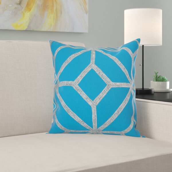 Fife Diamond Cotton Throw Pillow by Ebern Designs