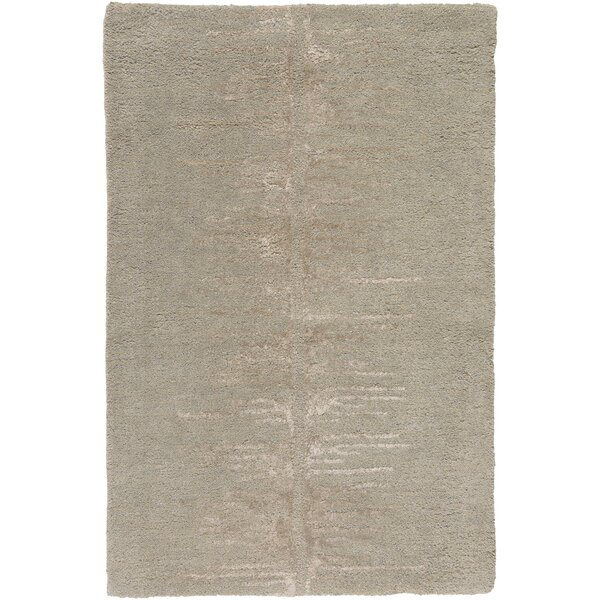 Zafiro Hand-Tufted Taupe Area Rug by Corrigan Studio
