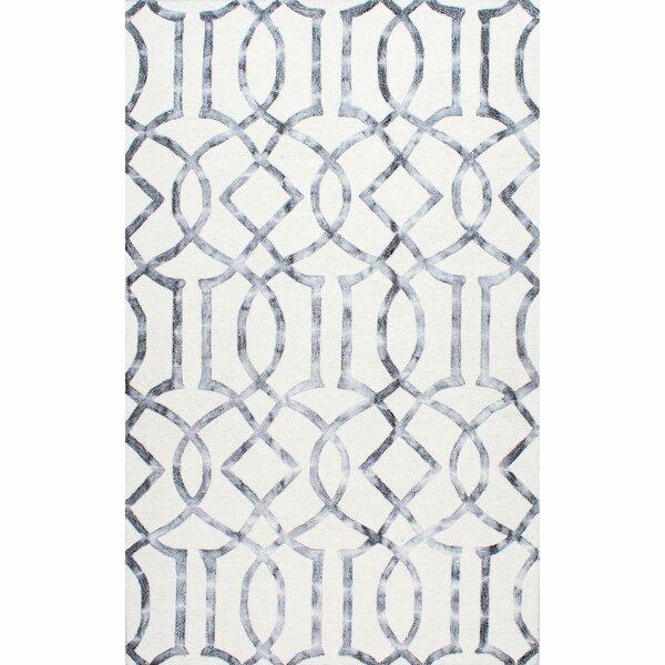 Shores Hand-Tufted Silver Area Rug by Willa Arlo Interiors