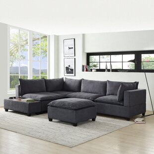 Brás 6 Piece Down Feather Living Room Set by Latitude Run®