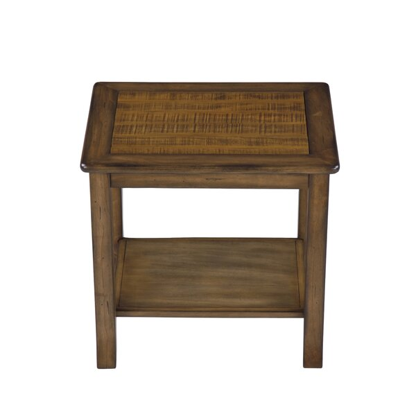 Hogan End Table by Alcott Hill