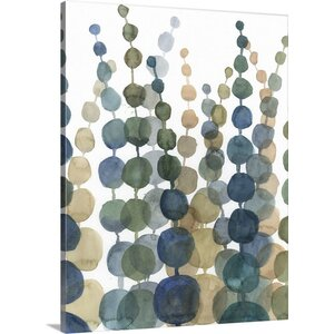 Pompom Botanical II by Megan Meagher Painting Print on Canvas by Great Big Canvas