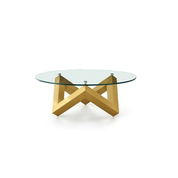 Diaundra Coffee Table by Everly Quinn Everly Quinn