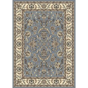 Price Check Weiser Rectangle Blue Area Rug By Astoria Grand