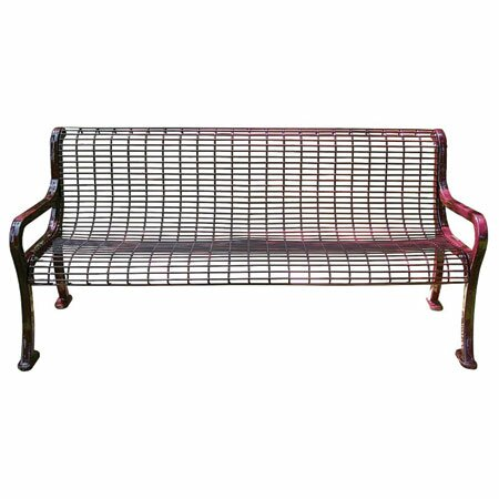 Wire Garden Bench by Leisure Craft
