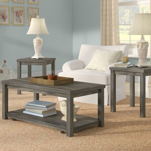 Grey Coffee Table Sets Youu0027ll Love | Wayfair