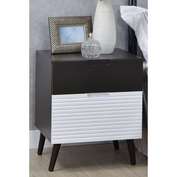 Kirtin 2 Drawer Nightstand by Corrigan Studio